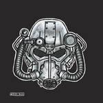 T-60 power armour helmet by wkedblue