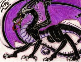 Zora - Mustang's Dragoness by EnshroudedVixen