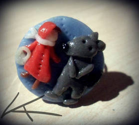 Little Red Riding Hood and the Wolf  - ring