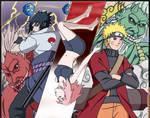 Naruto Fuujin Raijin