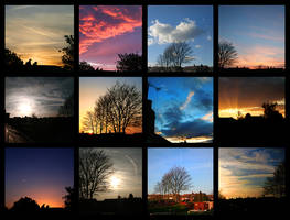 Sunsets. by accumulate