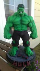 Hulk sculpt by sup3rs3d3d(Chris) paint me!