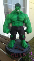 Hulk sculpt by sup3rs3d3d(Chris) paint me!
