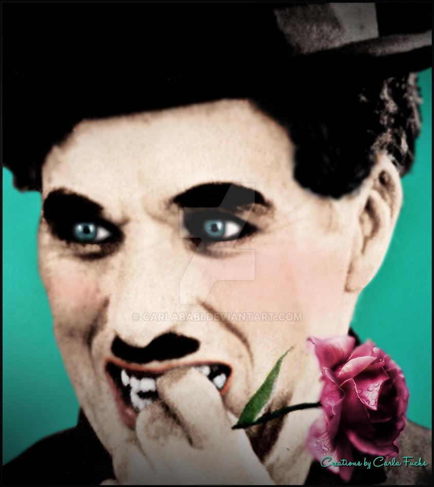 Sir Charles Spencer Chaplin by Carla Fuchs by CarlaBabi