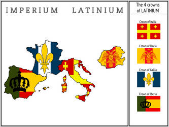 The 4 crowns of LATINIUM by Tekfonix
