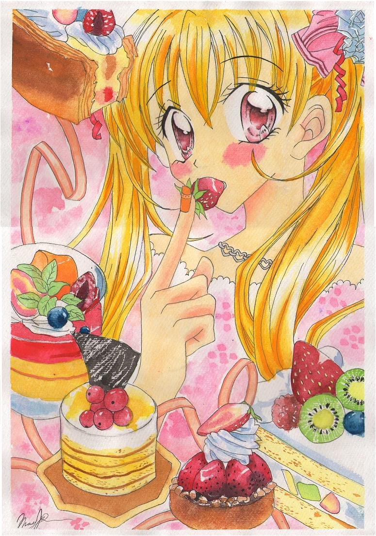 kitchen princess by blackmidnightivory manga anime traditional media