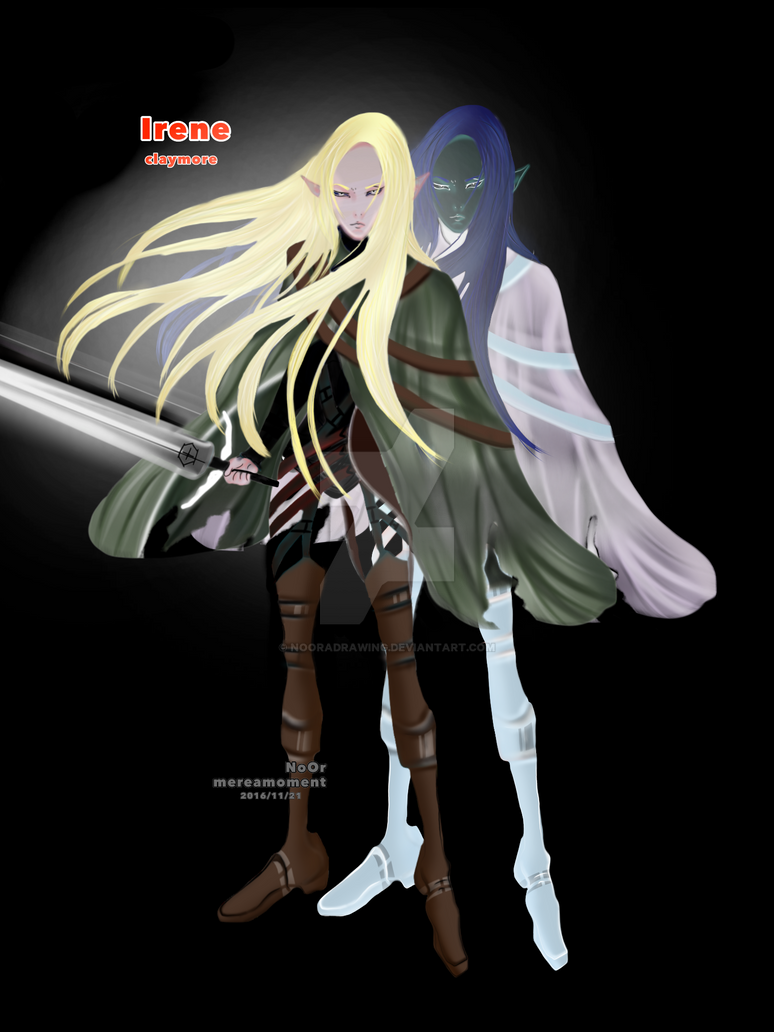 claymore by NoOradrawing