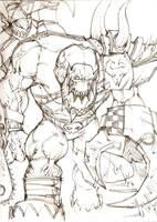 Big Ork Boss by llMonstersll