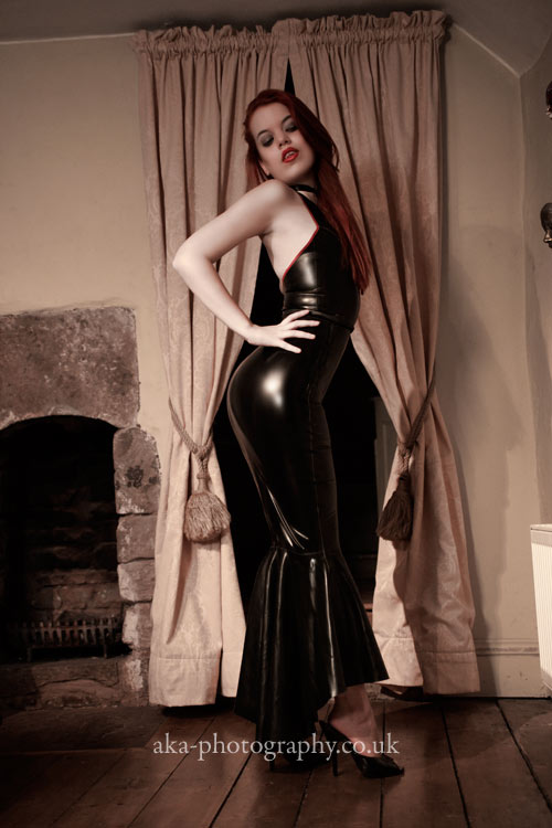 Latex mermaid by aka-photography-uk