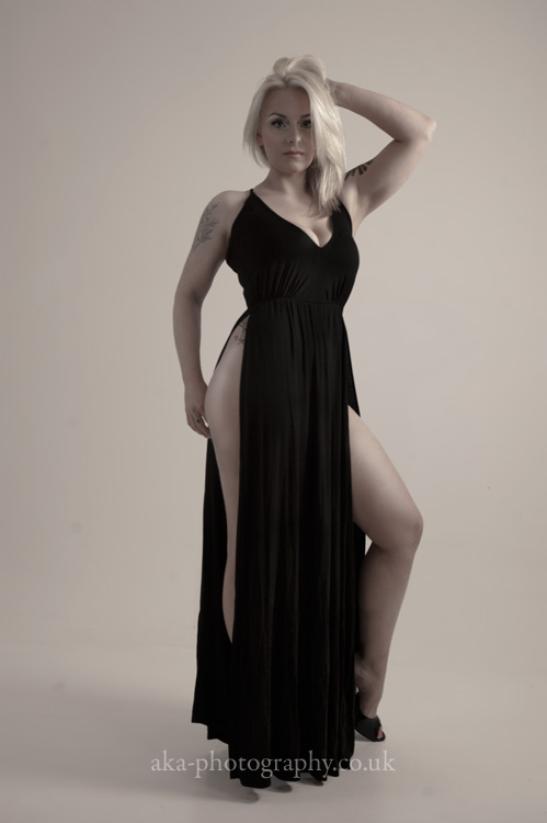 Black dress by aka-photography-uk
