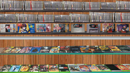 Game Factor Game Shelf Background