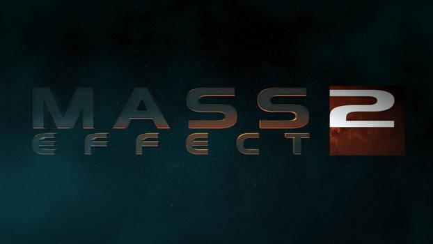 Mass Effect 2 logo design (stars)