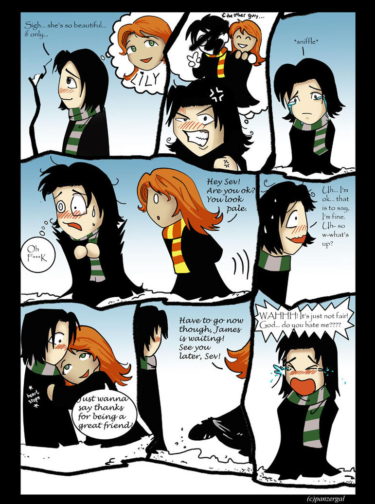Snape's wish by panzergal