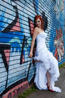 Trash the Wedding Dress 3 by MissSouris