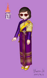 Princess Sirindhorn by Yuen-Ji