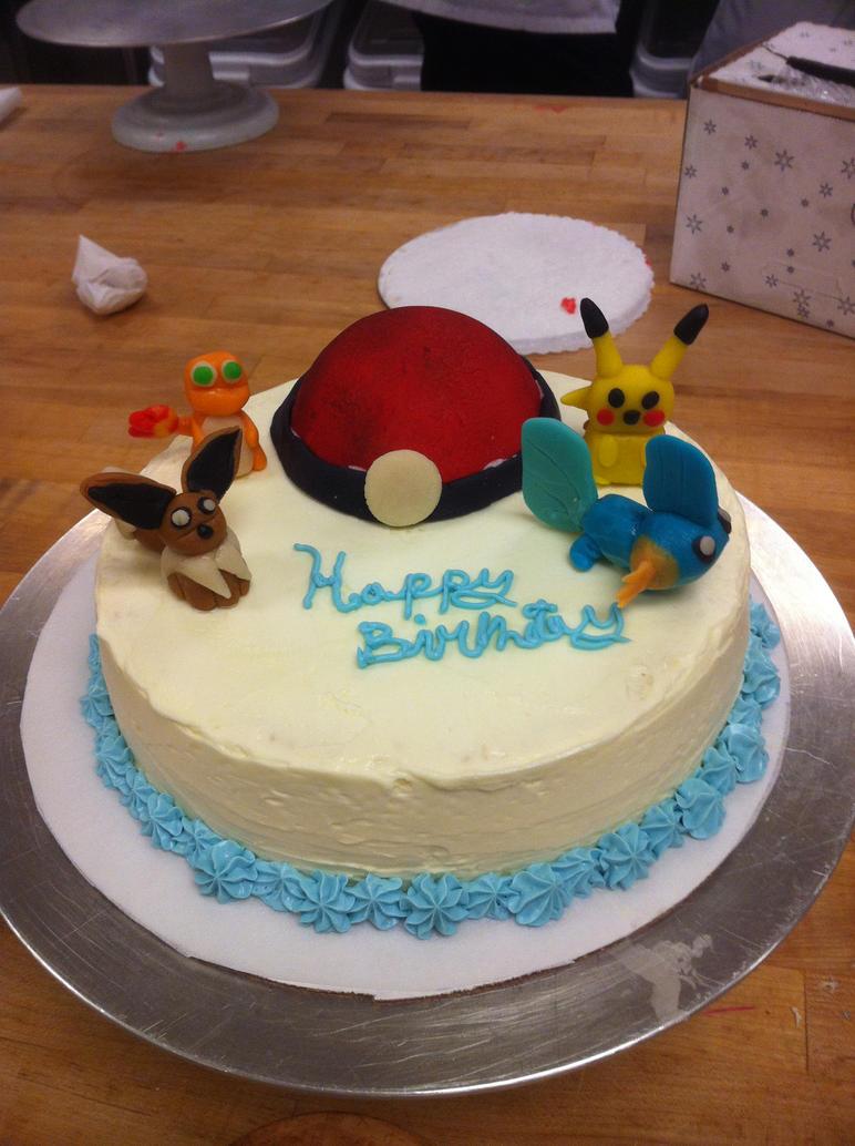 Pokemon Th Birthday Cake