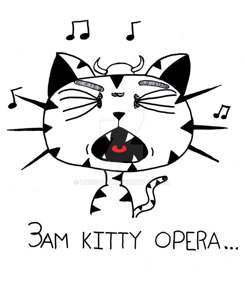 Kitteh Opera by Lorisarrd
