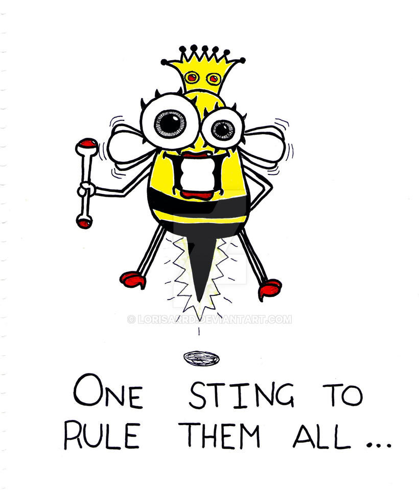 One sting to rule them all... by Lorisarrd