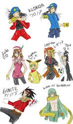 Klonoa cast as freaking humans by Kirika-chan
