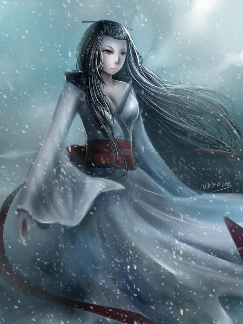 Yuki Onna By Xilveroxas On Deviantart