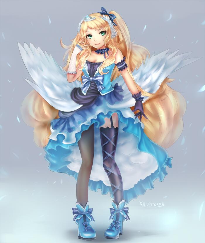 Princess Swanlake by xilveroxas