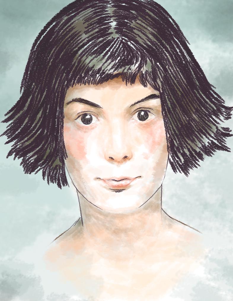 Audrey Tautou by Dantee610