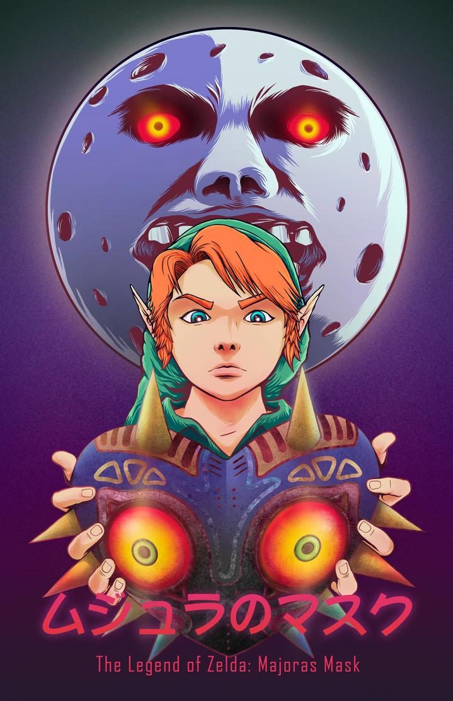 Majora's Mask Big Cartel Illustration by Dantee610