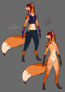 Furry style Yunithe