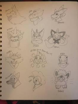 Rocket Hideout Doodles