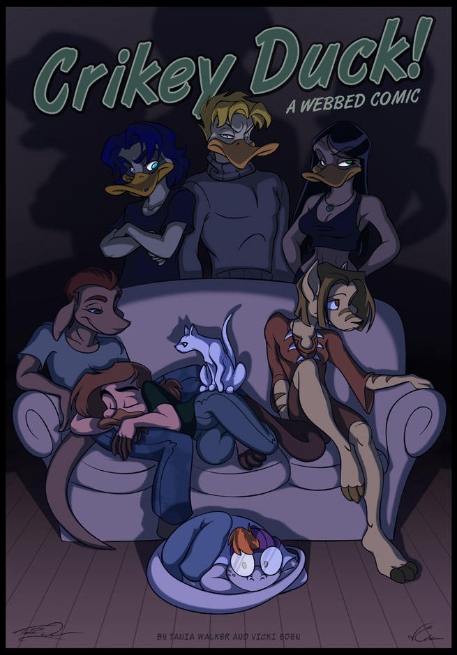 Crikey Duck: A Webbed Comic by animator