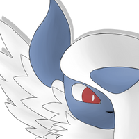 Mega Absol by trash-gaylie