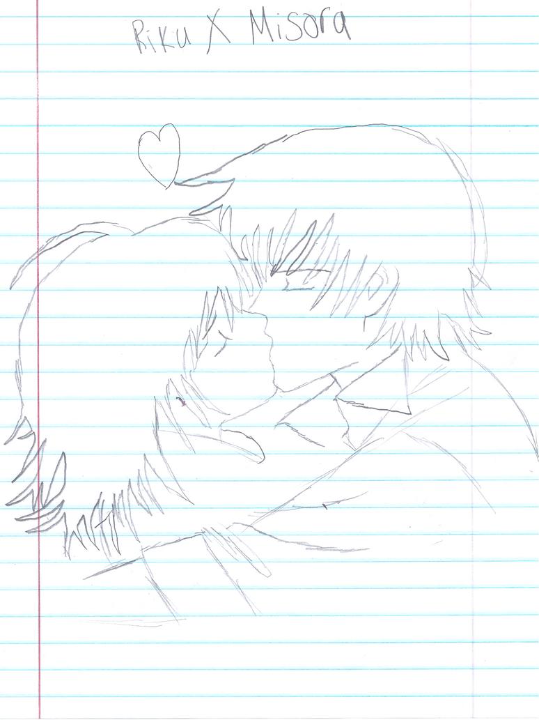 Riku X Misora Kiss every time we touch by PremierJvalrie