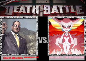 Death Battle! SENATOR ARMSTRONG Vs RAGYO KIRYUIN by PremierJvalrie