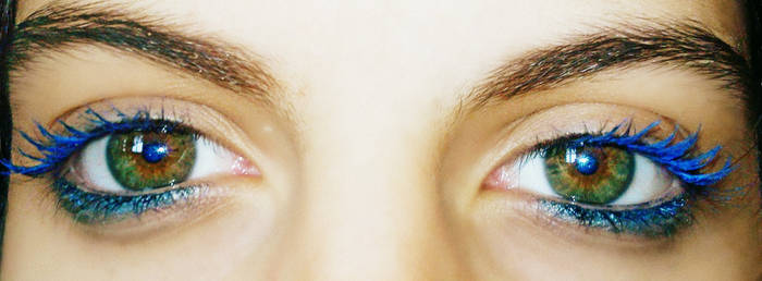 beautiful green eyes