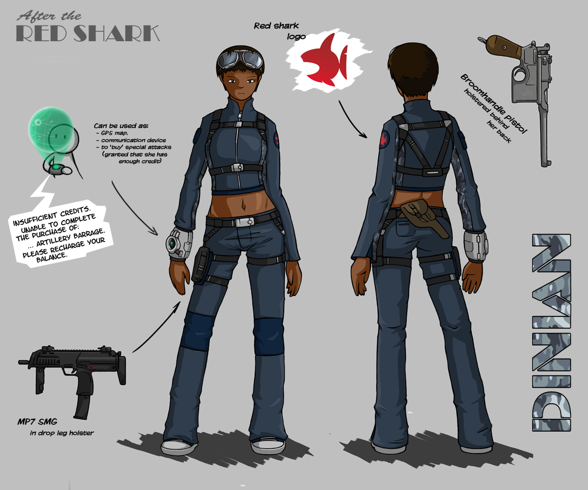 ATRS - Dinian character design by Jops556