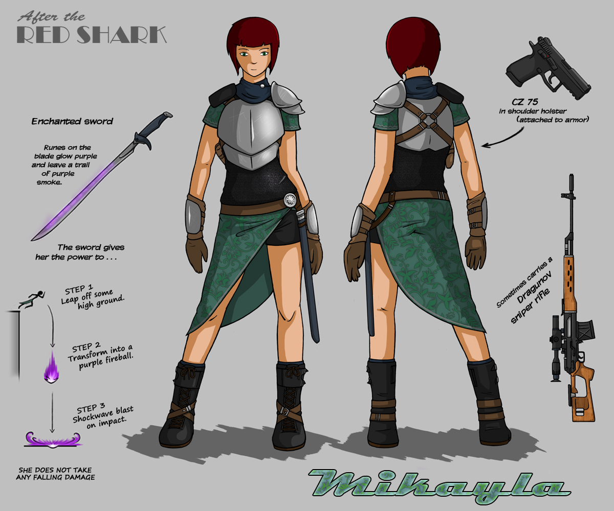 ATRS - Mikayla character design by Jops556
