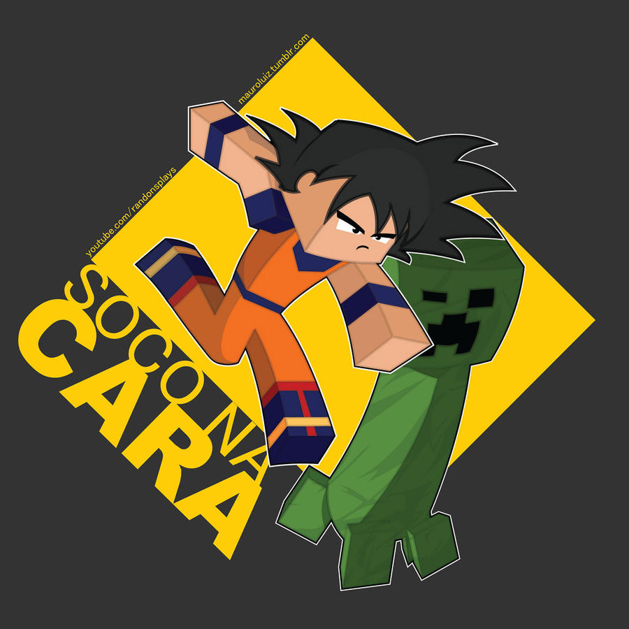 Goku on Minecraft by jetrotal on DeviantArt