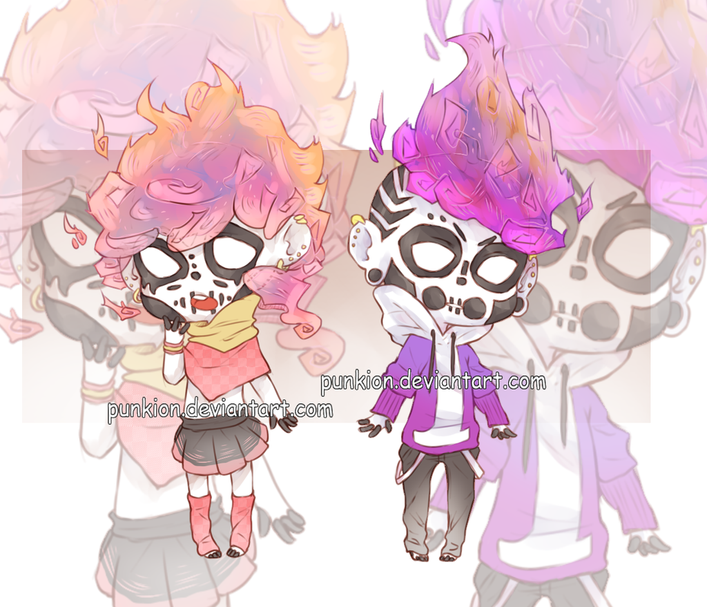 [CLOSED]Skullcandle Adoptables#1 by punkion