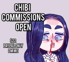 [OPEN]CHIBI COMMISSIONS