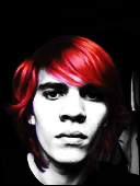Me in black white and red by theIwitcher