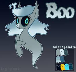 [Secondary Ponysona] Boo