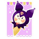 Ice cream Kuromi