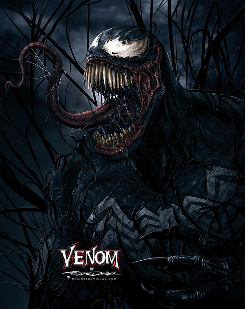 VENOM from Marvel Comics by unlimitedvisual