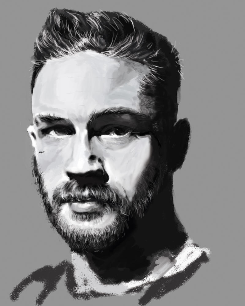 Tom hardy by quinncicle