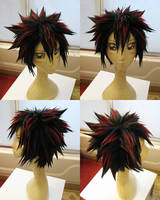 Shadow Wig Commission by Pisaracosplay