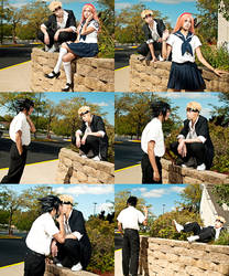 Naruto: School romance? by Pisaracosplay