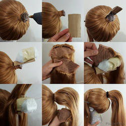 Wig hack #6: Ponytail Volume