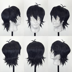 Keith Voltron Wig Commission
