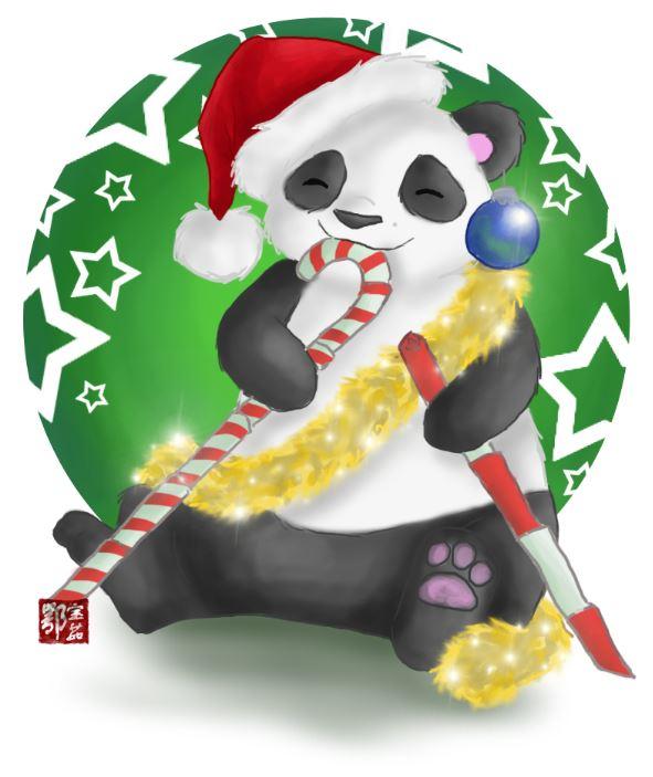 Chinese Christmas by efu