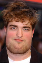 Fat Celebrities- R. Pattinson by PikachuProject98